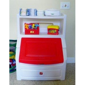 Amazon Com Toy Game Step 2 Lift Amp Hide Bookcase Storage