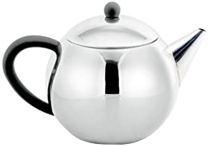 Cuisinox Teapot with Infuser, 28-Ounce, Stainless Steel