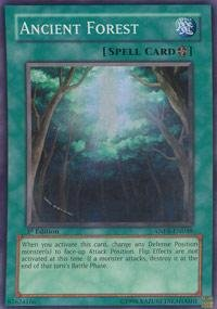 Yu-Gi-Oh! - Ancient Forest (ANPR-EN048) - Ancient Prophecy - Unlimited Edition - Super Rare