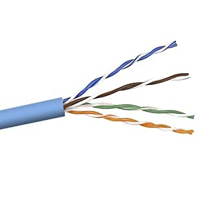 Belkin 1000-Foot Cat5e PVC Stranded UTP Bulk Networking Cable (Black) from BELN9
