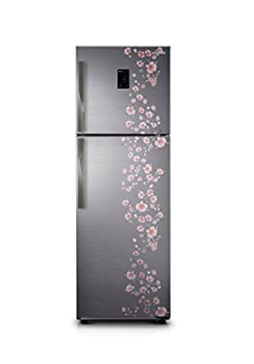 Samsung RT36HDJFELX Frost-free Double-door Refrigerator (345 Ltrs, 4 Star Rating, Orcherry Peach Silver)
