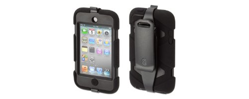Griffin Survivor Rugged Case for iPod Touch 4G (Black)