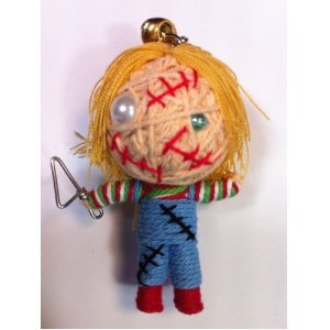 Chucky Voodoo String Doll Keychain - 1
