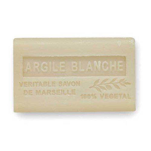(南仏産マルセイユソープ)SAVON de Marseille ホワイトクレイの香り(SP057)(125g)