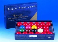 Aramith Tournament Champion Snooker ballset