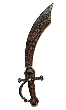 Sword with Skull and Crossbones Hilt