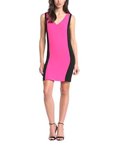 American Retro Kleid pink/schwarz