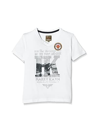 Harry Kayn Camiseta Manga Corta Blanco