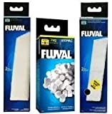 Fluval U4 Filter Set - Foam pads, Poly Carbon cartridges, and Biomax !70g