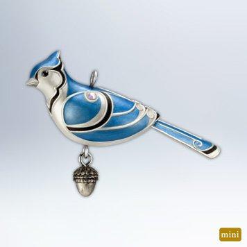 Hallmark 2012 Keepsake Miniature Ornaments QXM9014 Blue Jay