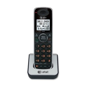 Corded/Cordless Phone,6.0,Digital Ans Sys,2 Handsets,BK/SR
