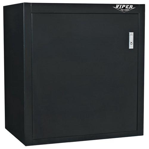 Viper Tool Storage V2600BL 26-Inch 1-Door 18G Steel Garage Storage Cabinet, Black