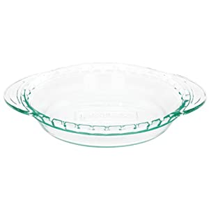 Click to buy Cool Kitchen Gadget: Pyrex Grip-Rite 9 1/2 Inch Pie Plate, Clear from Amazon!