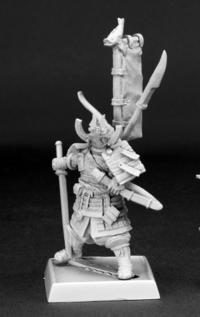 Reaper Miniatures 60083 Pathfinder Series Mini Samurai Miniature REM60083