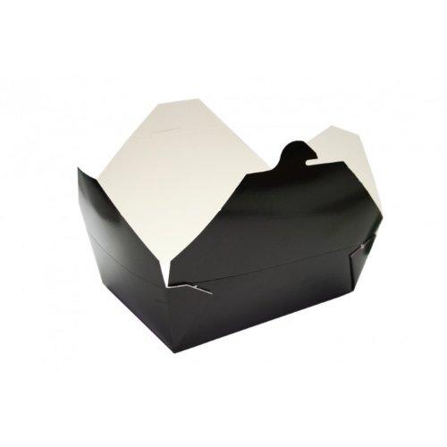 Bio-Pak Container - schwarz - #3 - Bio Pak Verpackung - 56oz / 1650ml - 1 Stück