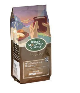 Green Mountain Coffee Wild Mountain Blueberry 12 Oz. Ground Packaged By Green Mountain Coffee Roasters [Foods]