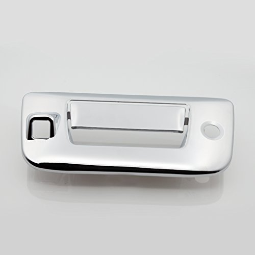 E-Autogrilles Triple Chrome Plated ABS Tailgate Door Handle Cover for 07-13 Chevrolet Silverado 1500 / 07-14 Chevrolet Silverado 2500/3500 / 07-13 GMC Sierra 1500 / 07-14 GMC Sierra 2500/3500 ( 64-0123 ) (2011 Gmc Yukon Chrome Gas Cover compare prices)