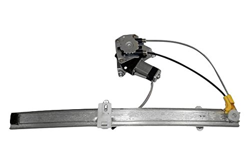 APDTY 111277 Window Motor & Regulator Assembly Rear Left Driver-Side Upgraded Cable Style Fits 2002-2006* Jeep Liberty (2006* Models Manufactured Up