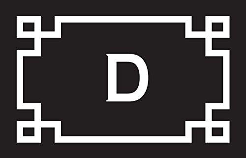 Personalized Door Mats Welcome Mats Kitchen Mats or Front Door Custom Door Mats with Initial D (Monogram Letter D Mat compare prices)