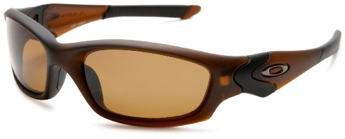Oakley Men Straight Jacket Polarized Sunglasses