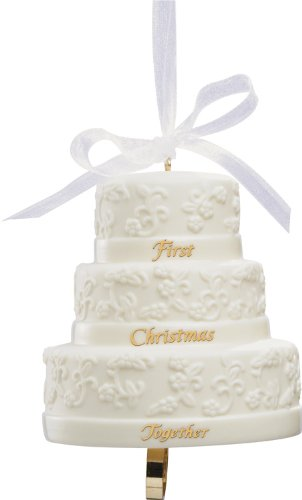 Carlton Heirloom Ornament 2013 First Christmas Together – Porcelain Wedding Cake – #CXOR007D