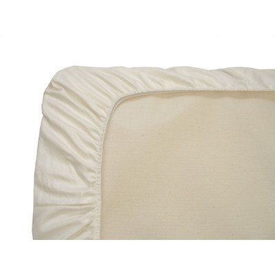 Naturepedic Organic Cotton Crib Fitted Sheet - 1