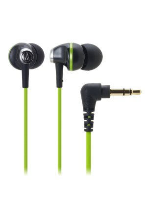 Audio-Technica ATH-CK313MBGR In-Ear Headphones ( earphone )-Black/Green (manufacturing end products) [parallel import goods]