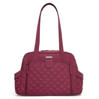 Vera Bradley Make a Change Baby Bag in Raisin