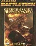Cbt Mercenaries Supplemental Update (Classic Battletech FPR35028)