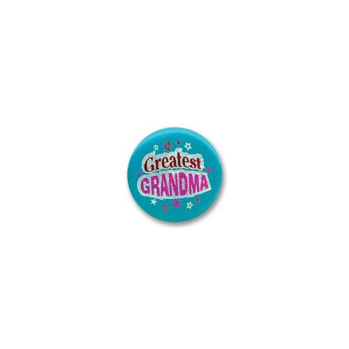 """Greatest Grandma Satin Button 2"""" Party Accessory - 1"""