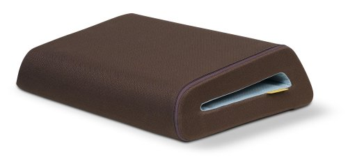 Belkin F8N044-BRN CushTop Notebook Stand (Chocolate/Blue)