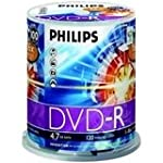 DVD-R 4.7GB DATA 120MIN VID 16X 100-S...