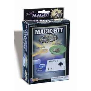 Forum Novelties 62605 Deluxe Magic Kit - 20 Magic Trick Secrets Revealed - 1