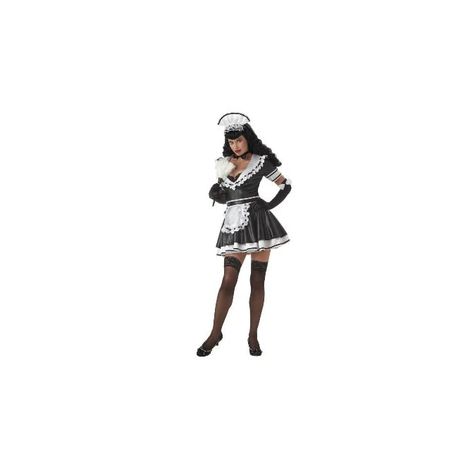 Bettie Page Maid Bettie   Adult Small Costume