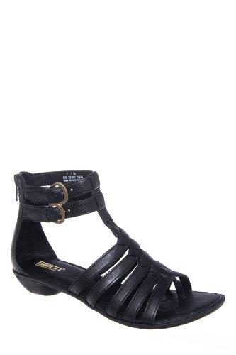 Born Nikka Dual Ankle Strap Flat Sandal