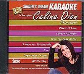 CD(G) Karaoké Celine Dion (Livret parole inclus)