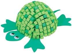 Darice Fun Foam Friends 3D Mosaic Kit Turtle 10615-62; 6 Items/Order
