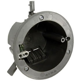 Raco 3-1/2 In. Round Non-Metallic Cable Ceiling Box Old Work Gp 17.3 Cu. In.