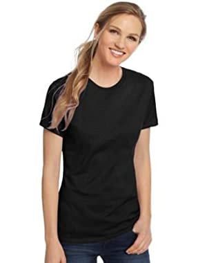 Hanes Ladies' Nano-T T-Shirt (Black) (X-Large)
