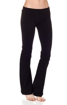 Find Discount Cordiu Basic Fold Over Waist Yoga Pants