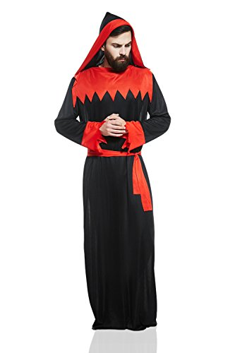 Previous · / Next  sc 1 st  The New Church of Satan & Adult Unisex Satanist Halloween Costume Devil Worshipper Dress Up ...