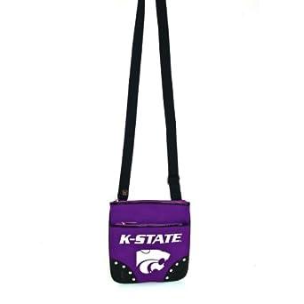 Amazon.com: Kansas State University Willie the Wildcat Canvas Cross