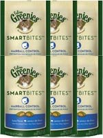 Greenies Feline SMARTBITES Hairball Control Tuna 2.1oz - 6 Pack by Greenies