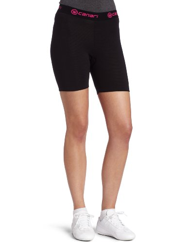 Buy Low Price Canari Cyclewear Women's Gel Cycle Liner Padded Cycling Brief (7304-BLACK)