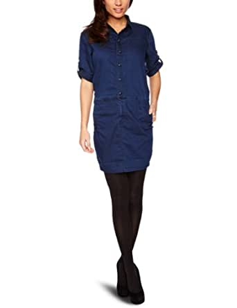 G-star - Robe - Femme - Bleu (Indigo) - FR : XS (Taille fabricant : XS)