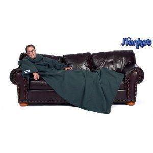 Slanket Blanket with Sleeves - Slanket Blanket Hunter Green