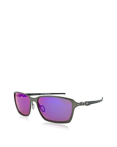 Oakley Men's Tincan Carbon Polarized Iridium Rectangular Sunglasses, Carbon