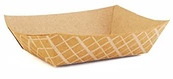 Southern Champion Tray 0501 #25 ECO Kraft Paperboard Food Tray, 1/4-lb Capacity (Case of 1000)