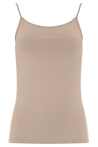 Mr.Caller 100% Original Boody Bamboo Organic Eco Wear Camisole Cami Top Seam Free No Odor Hypoallergen UK (Small, Nude)