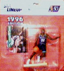Jamal Mashburn Action Figure - 1996 Edition Starting Lineup Sports Superstar Collectible - 1